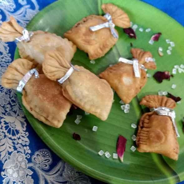 Photo of Coconut mawa bori gujhiya by Pratima Pradeep at BetterButter