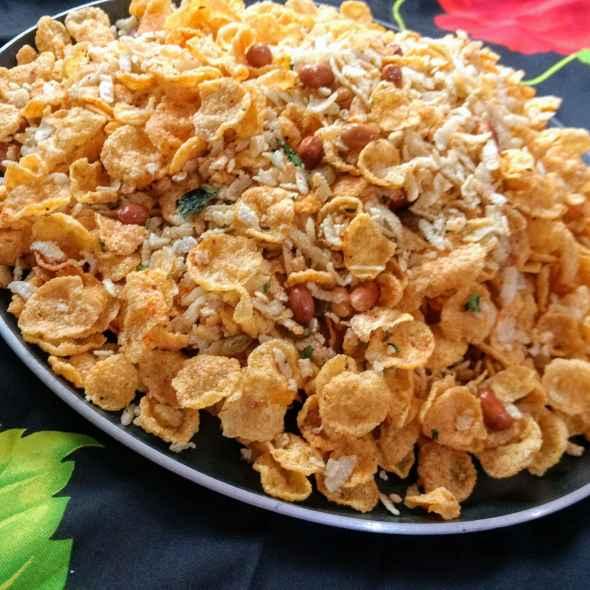 Photo of Poha cornflakes mixcher by Pratima Pradeep at BetterButter