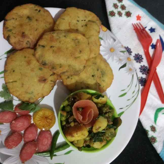 Photo of Rava puri by Pratima Pradeep at BetterButter