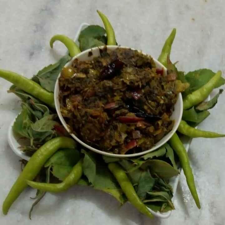 Photo of Gongura pickle by Pravallika Srinivas at BetterButter