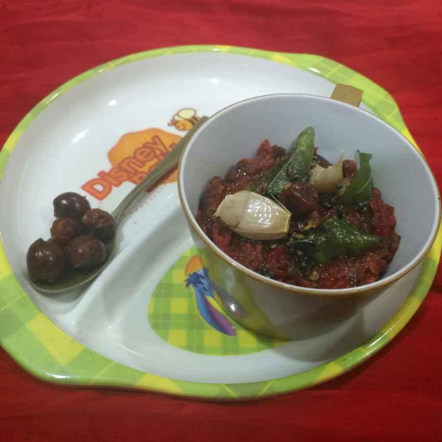 Photo of Jujube Redchilli Pickle by Pravallika Srinivas at BetterButter