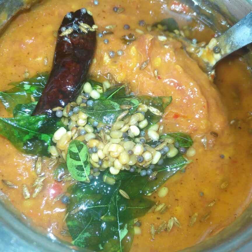 Photo of Tomato Red Chilli Chutney by Pravallika Srinivas at BetterButter