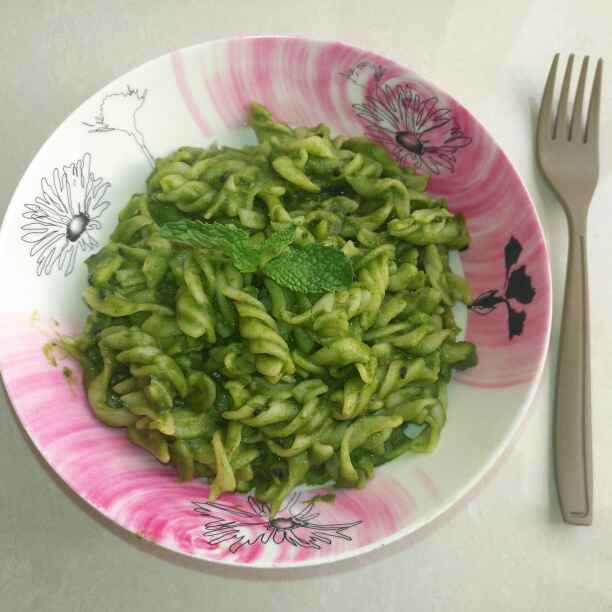 Photo of Spinach pasta by Pravallika Srinivas at BetterButter