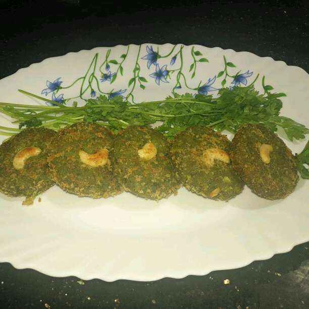 How to make Green Cutlet