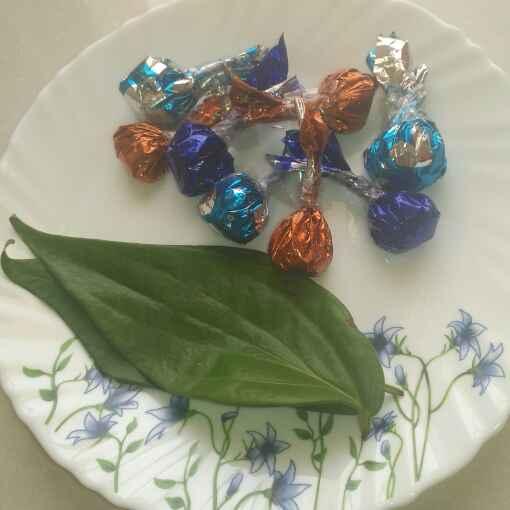 Photo of Betal leaf paan /Dry paan Chocolate by Pravallika Srinivas at BetterButter