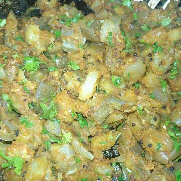 Photo of Coriander plantain Curry by Pravallika Srinivas at BetterButter