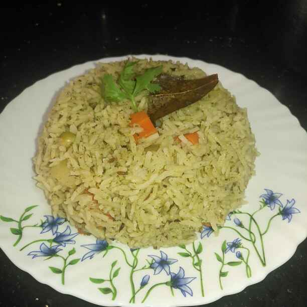 How to make Vegetable Mint Pulav