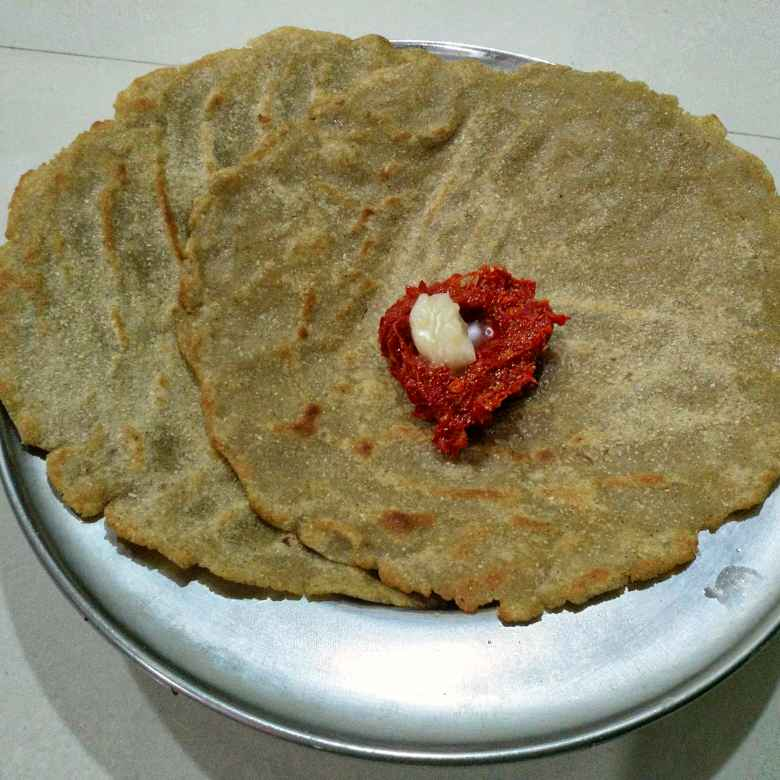 How to make Jawar Roti / Jonna Rotte