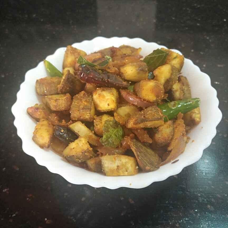 Photo of Raw Banana Gramflour Fry by Pravallika Srinivas at BetterButter