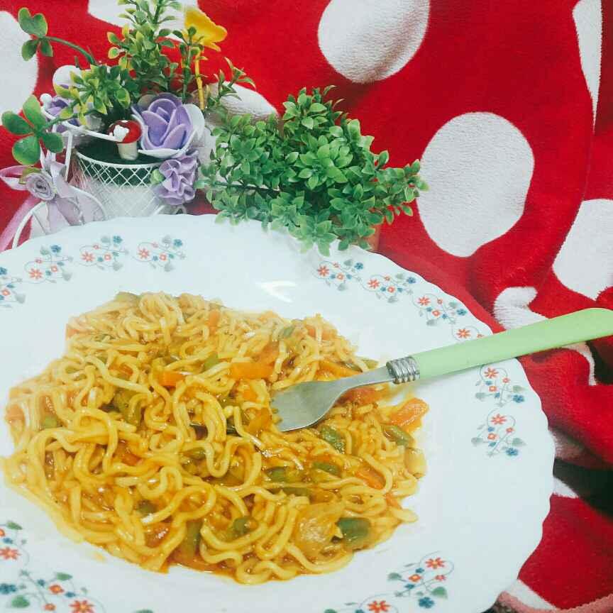 Photo of Vegetable Hakka Noodles by Pravallika Srinivas at BetterButter