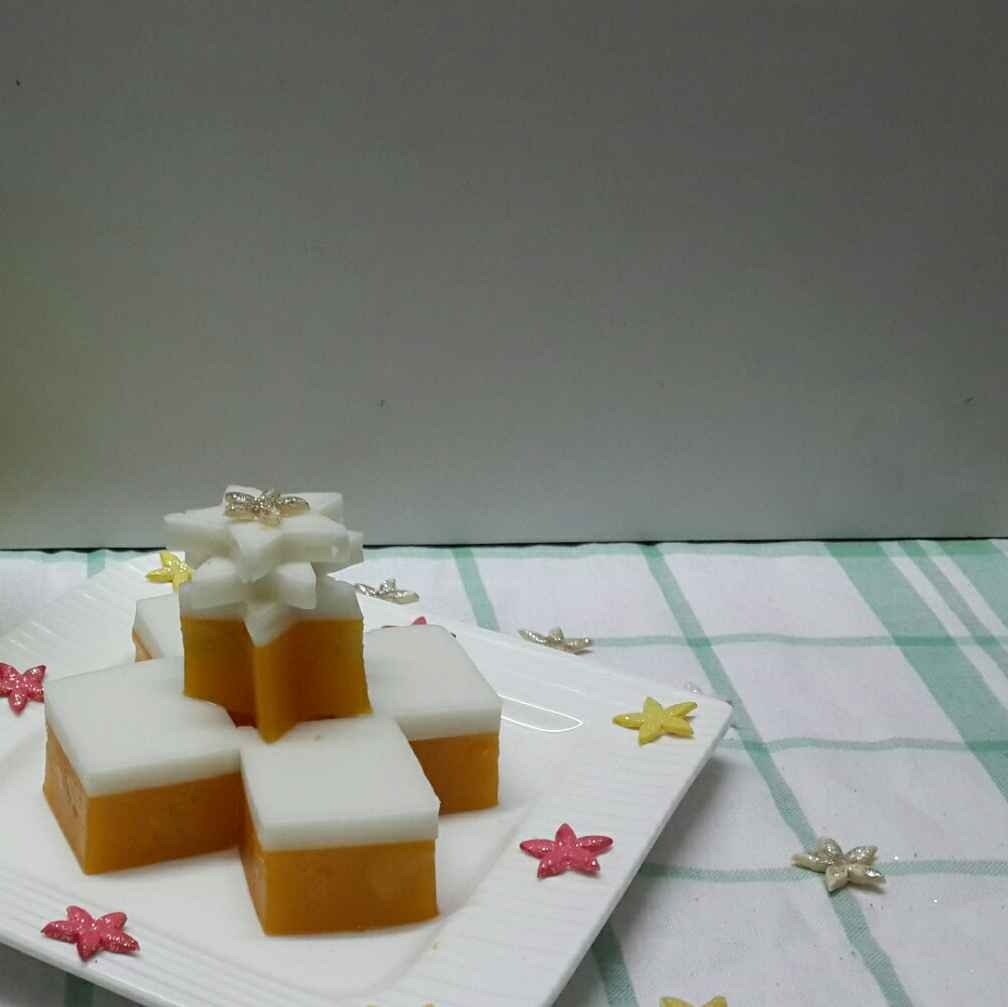 How to make Peach Coconut Jelly