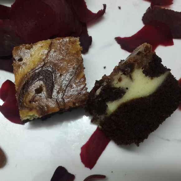 Photo of Beetroot Whole Wheat Chocolate Cheesecake by praveena naineni at BetterButter