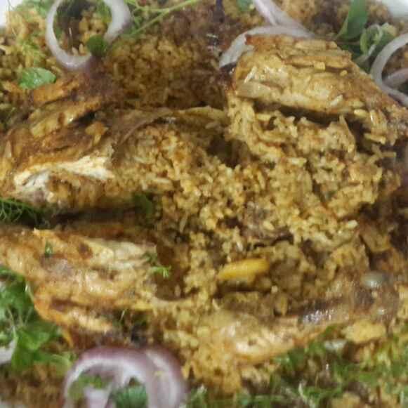 Photo of Chettinad biryani stuffed whole chicken by praveena naineni at BetterButter
