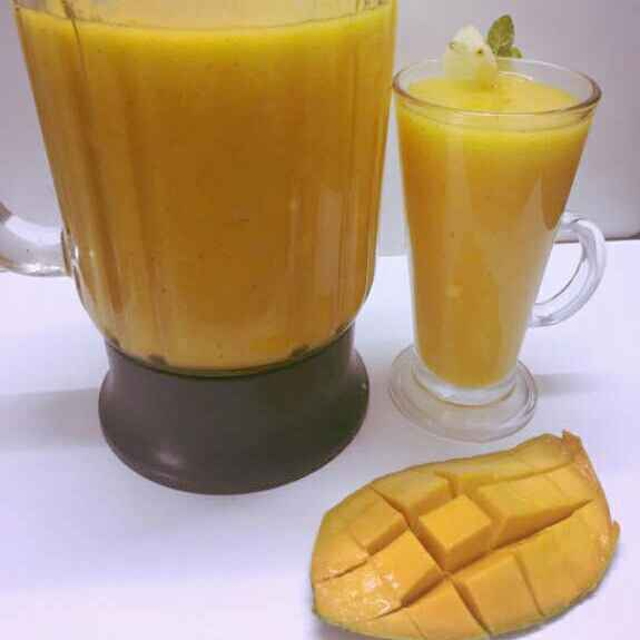 Photo of Mango Pineapple Smoothie by praveena naineni at BetterButter