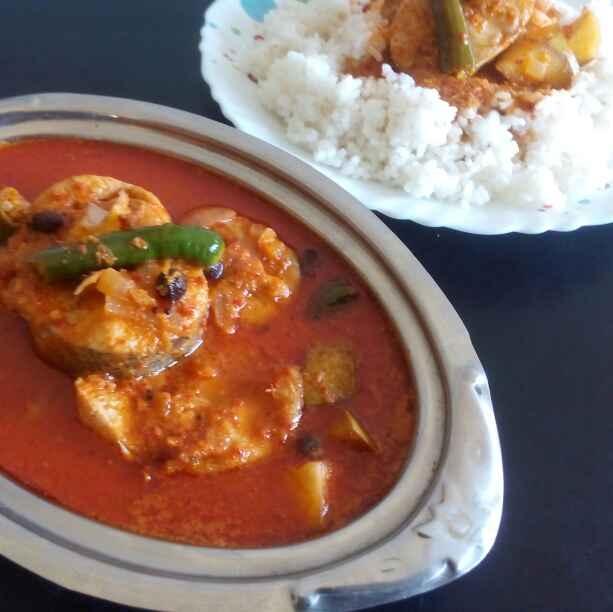 How to make Kerala style Fish-raw mango curry