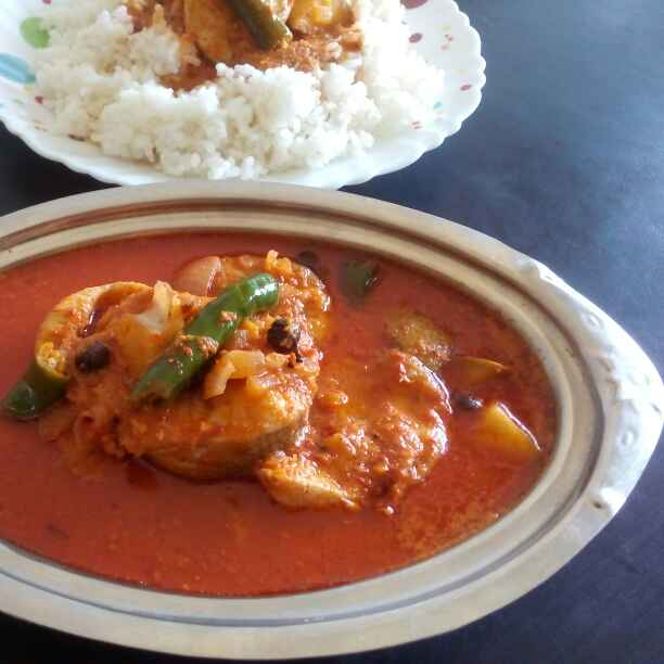 Photo of Kerala style Fish-raw mango curry by preethi Baliga at BetterButter