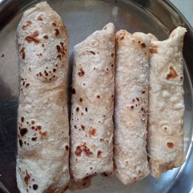 Photo of Thinai,potato chapathi roll by preethi prasad at BetterButter