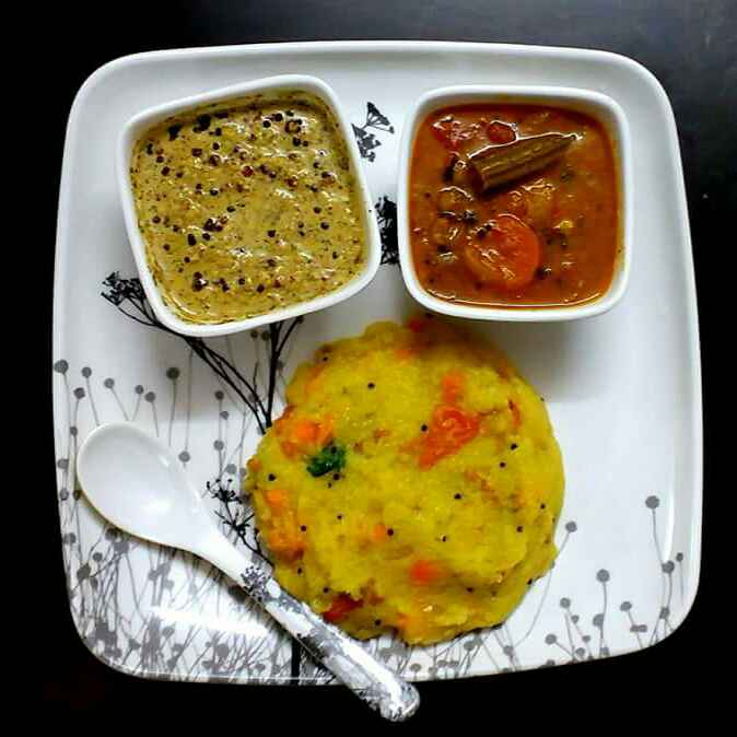 Photo of Carrot rava khichdi/upma by Preethi TK at BetterButter