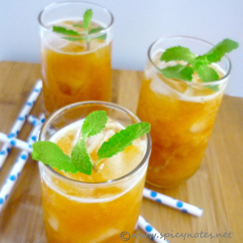 Photo of Mango Iced Tea by Preeti Alam at BetterButter