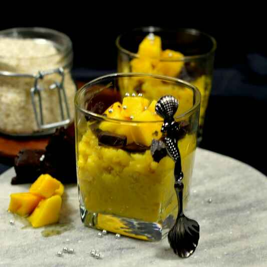 How to make Mango Coconut Rice Pudding