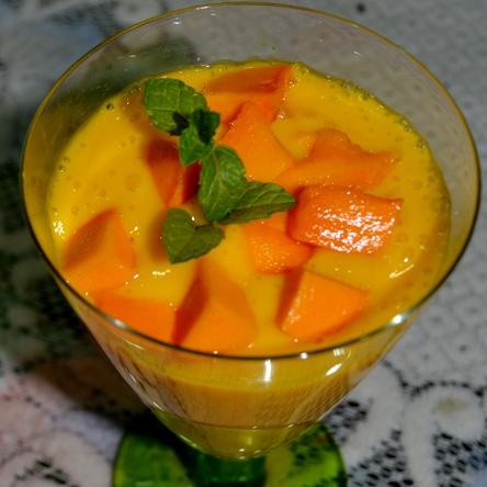 Photo of Mango  Mint  Lassi by Preeti Gupte at BetterButter