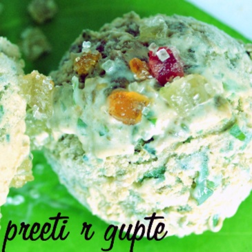 How to make Paan  Dilbahar  Ice Cream  Served  On  Paan