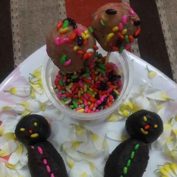 How to make Fruit And Chocolate Cake Pops