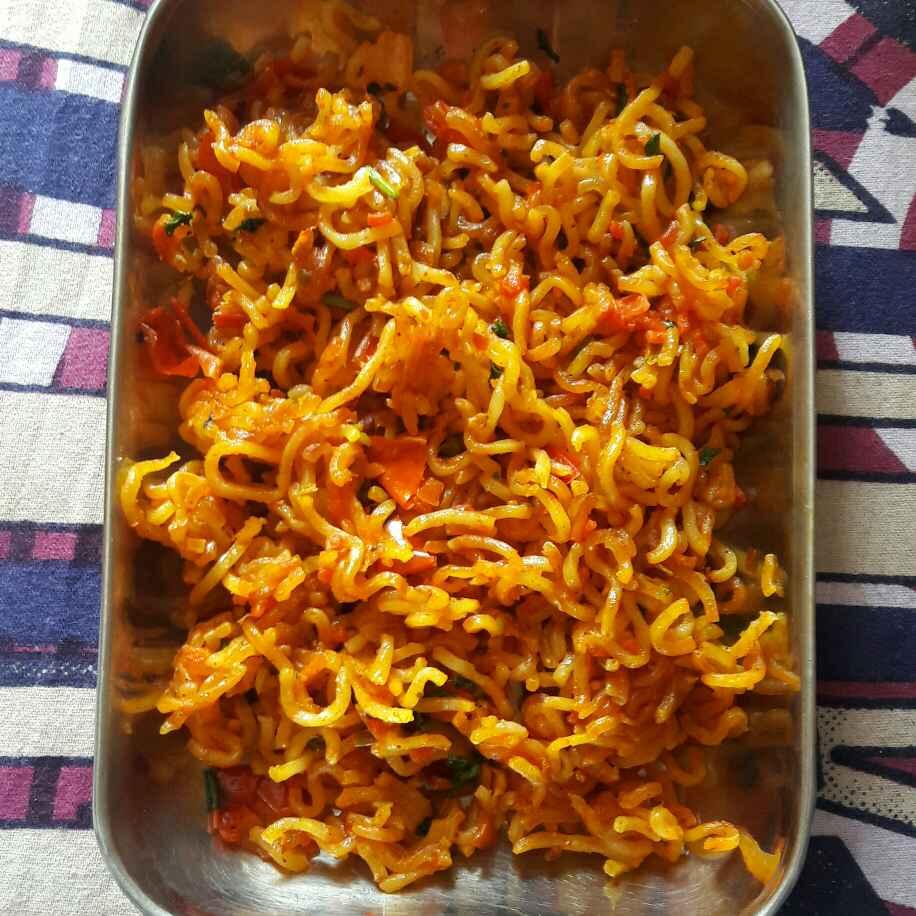 How to make Kurkuri maggie masala