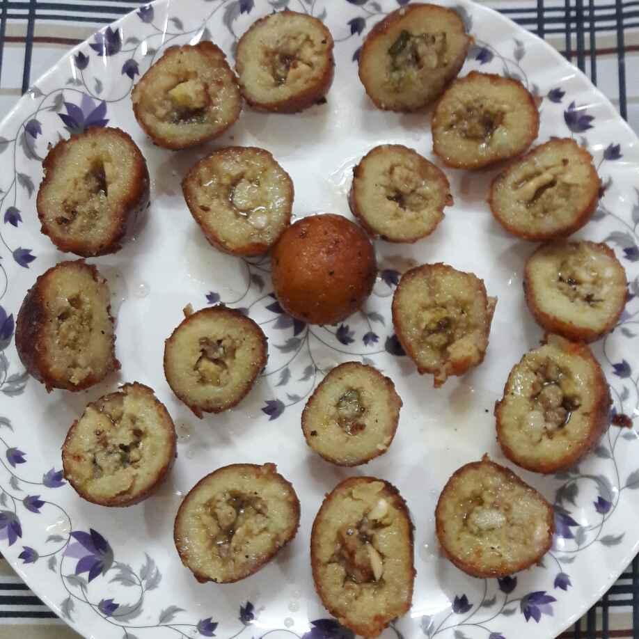 Photo of Mawa stuffed bread baati by Preeti Jaiswani at BetterButter