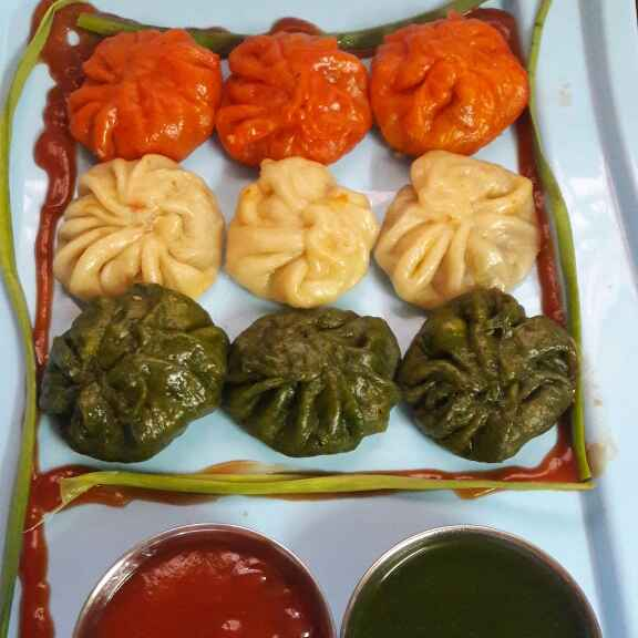 How to make Tiranga momos