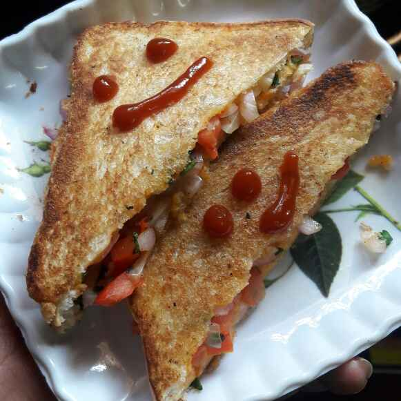 Photo of Masala toast by Preeti Jaiswani at BetterButter