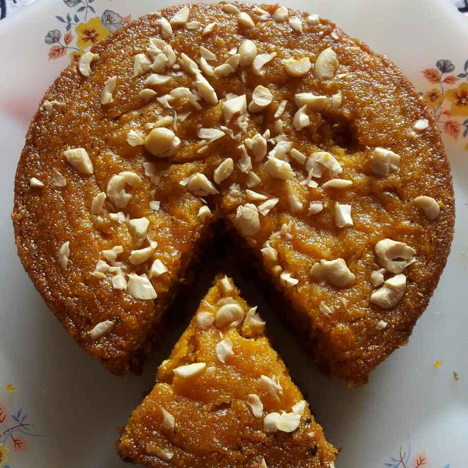 Photo of Mango semolina cake by Preeti Jaiswani at BetterButter