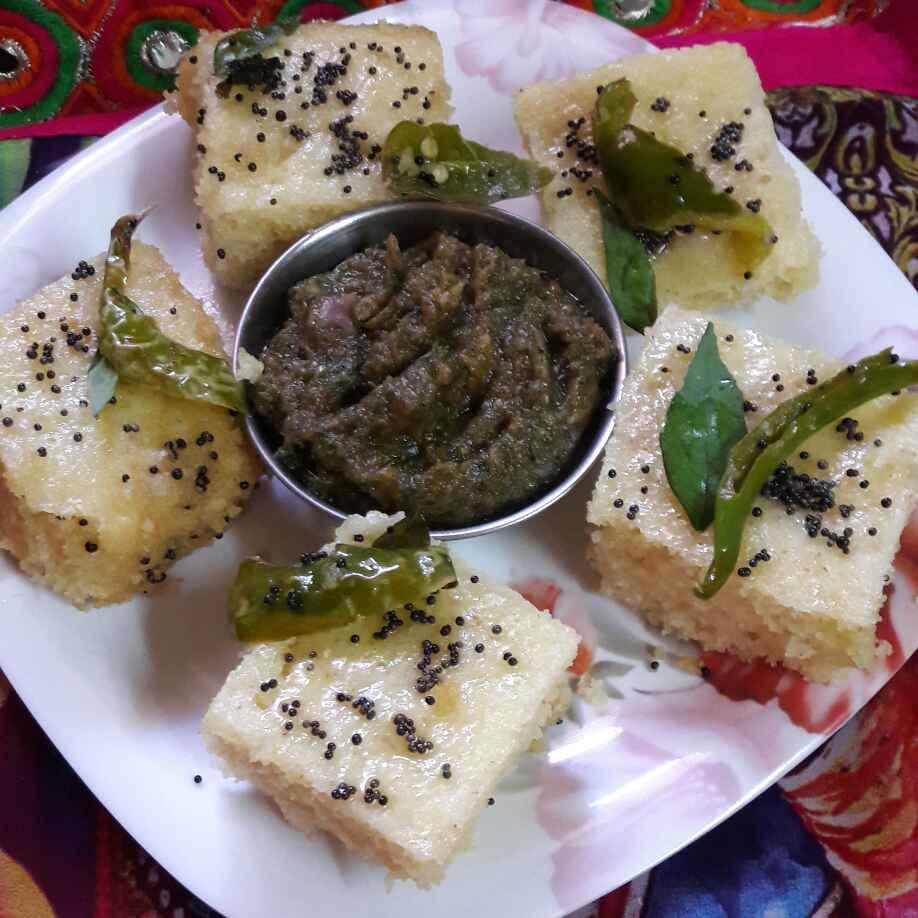 How to make Poha dhokla