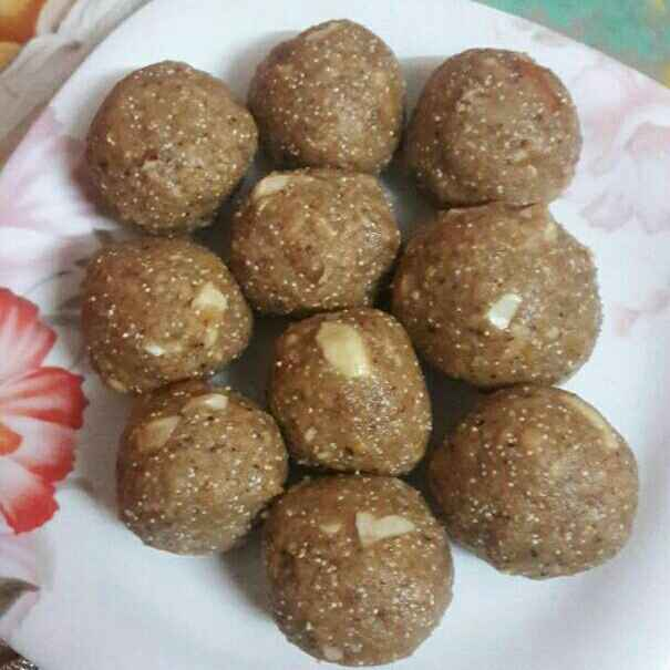 Photo of Energy ladoo by Preeti Jaiswani at BetterButter