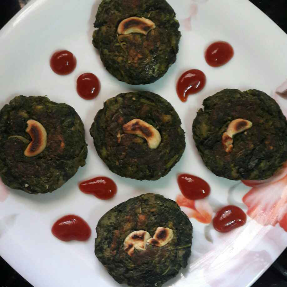 How to make Spinach kebab