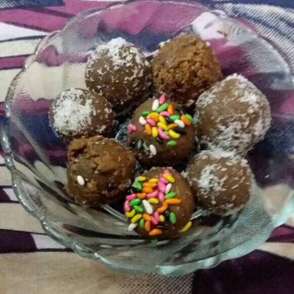 How to make Choco biscuit ladoo