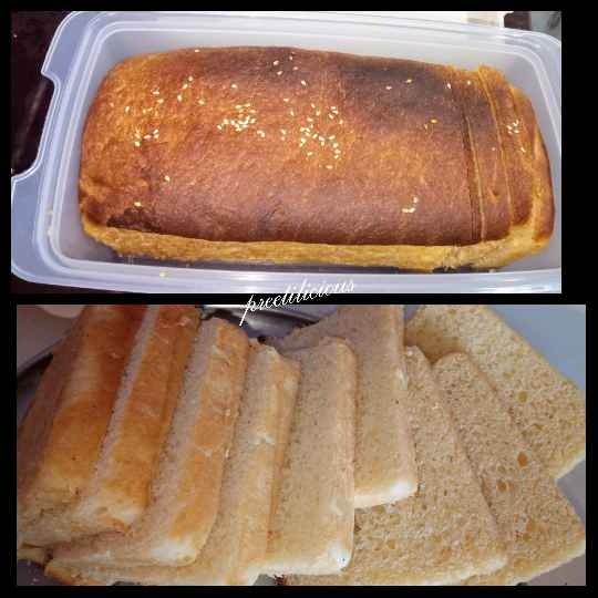How to make White Bread Milk Loaf