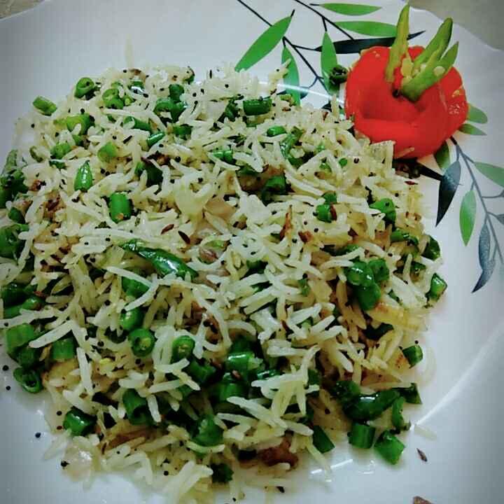 How to make Beans pulao