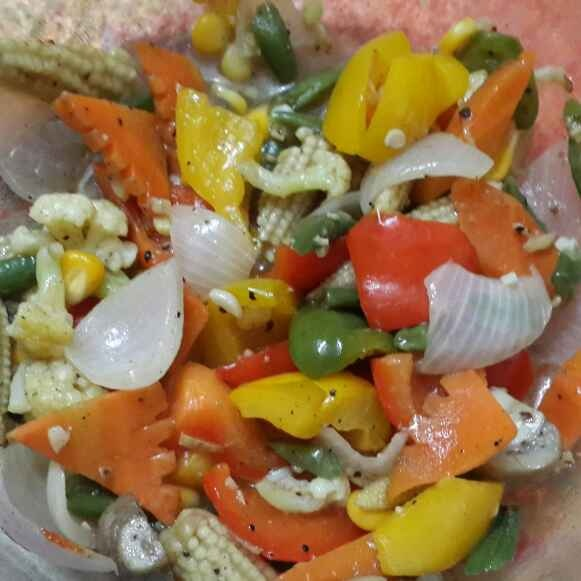 How to make Veg pepper salt