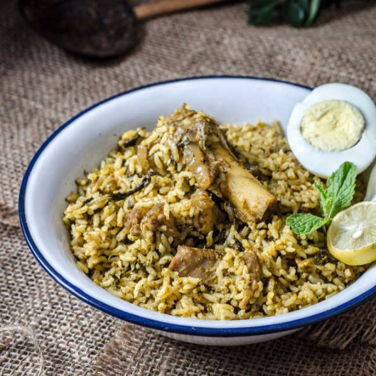 Photo of Mutton & Curry Leaves Biryani by Preeti Tamilarasan at BetterButter