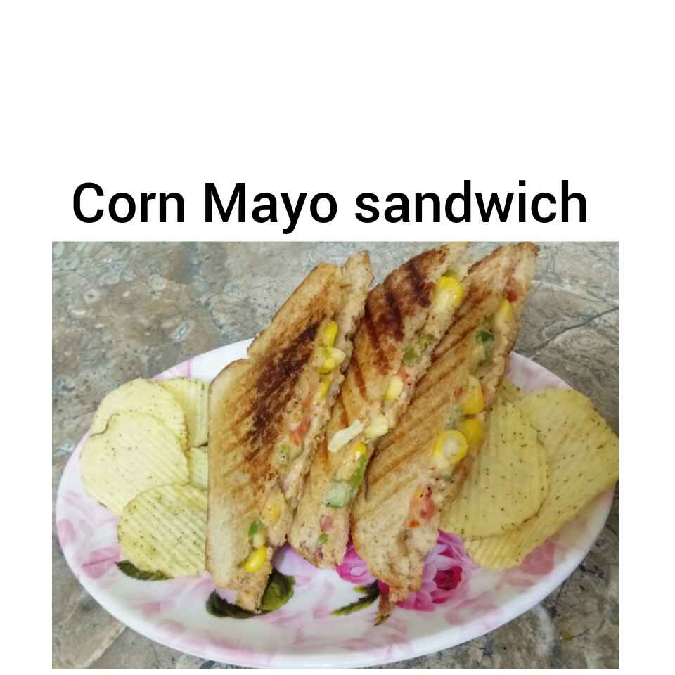 Photo of Corn mayo sandwich by Preetika Verma at BetterButter
