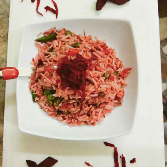 Photo of Beetroot rice by Preetika Verma at BetterButter