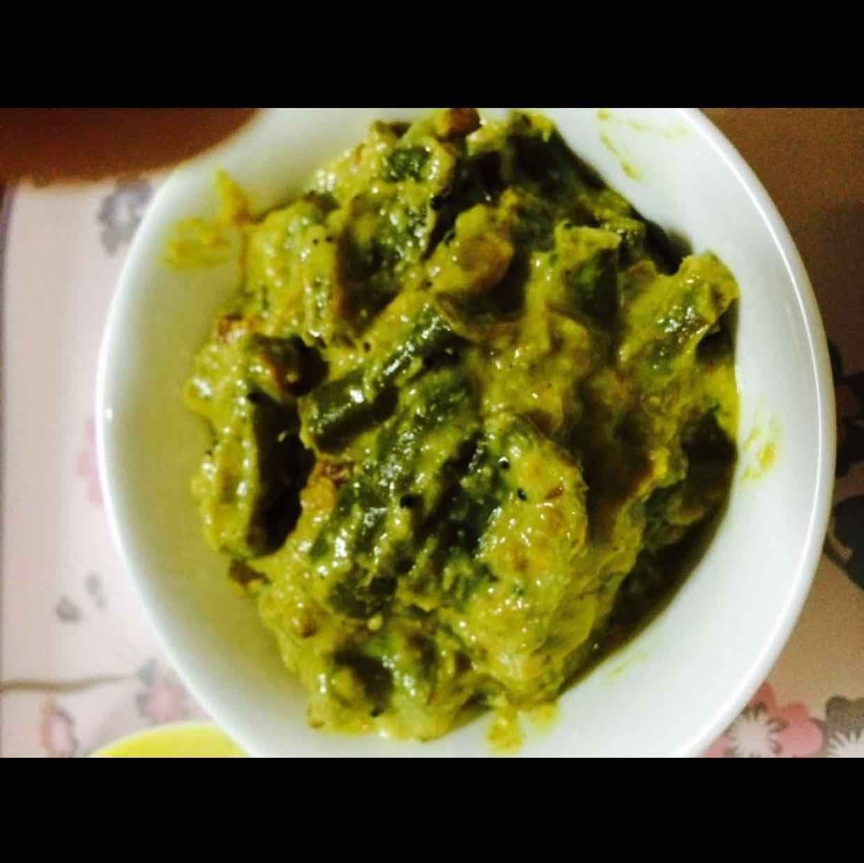 How to make Green Chilies Pachadi