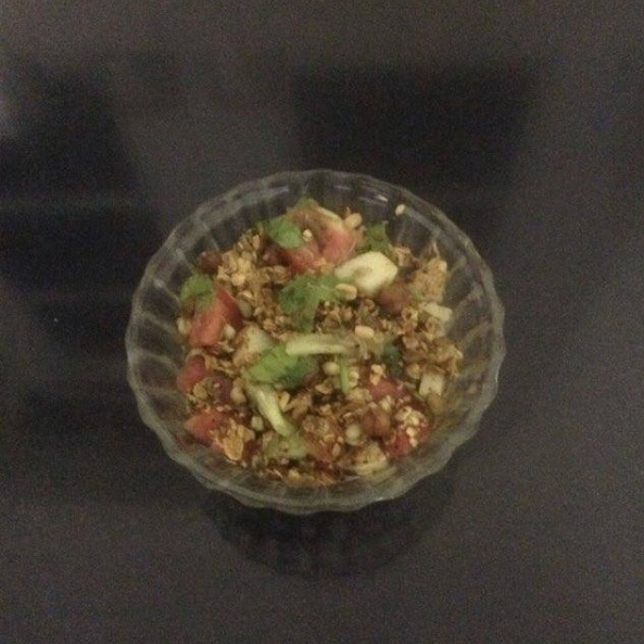 How to make Oats and Sprouts Chaat