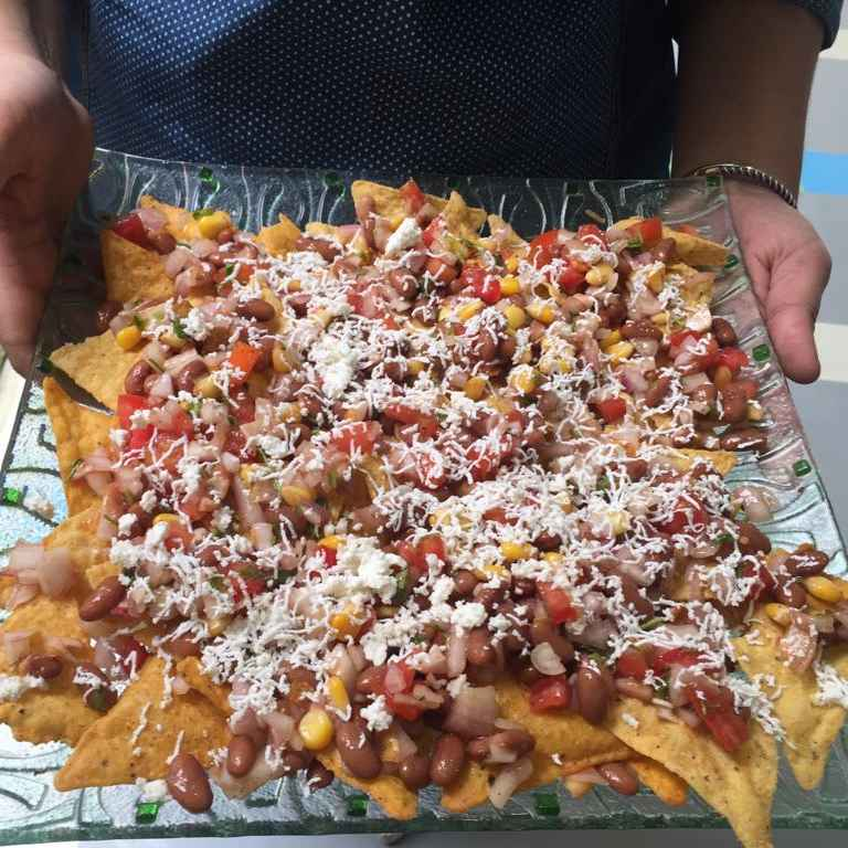 Photo of Mexican Nachos Chaat by Prerna Mohit Khurana at BetterButter