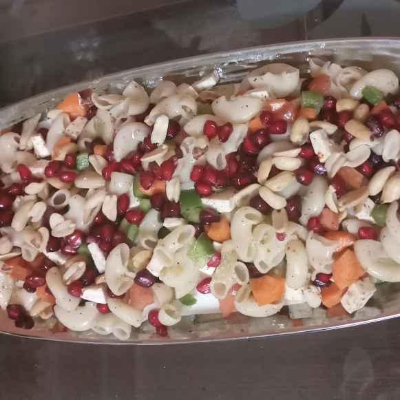 How to make Macaroni Fruity Salad