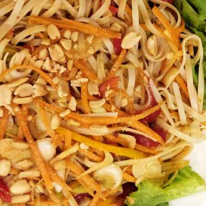 How to make Flat Noodle Salad
