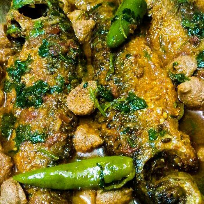 How to make Fish curry with lentil dumplings
