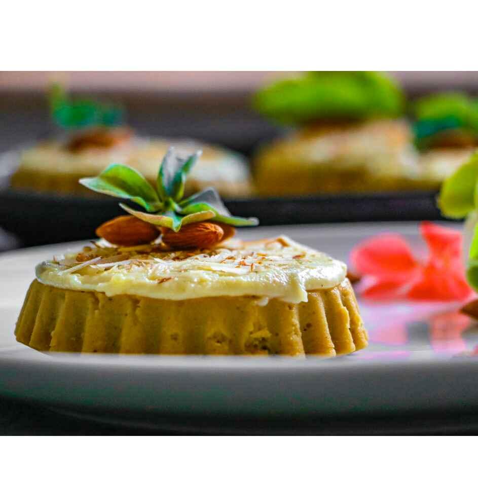 Photo of Upside down chana tart with malai by Pritha Chakraborty at BetterButter