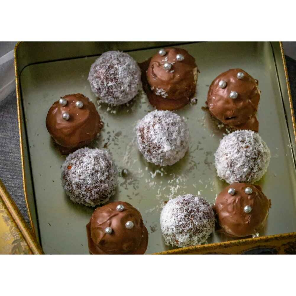 Photo of Nutty wine balls by Pritha Chakraborty at BetterButter